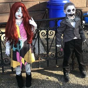 jack and sally costumes from the nightmare b4 xmas